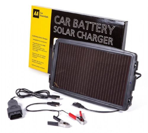 AA Solar Panel Battery Charger